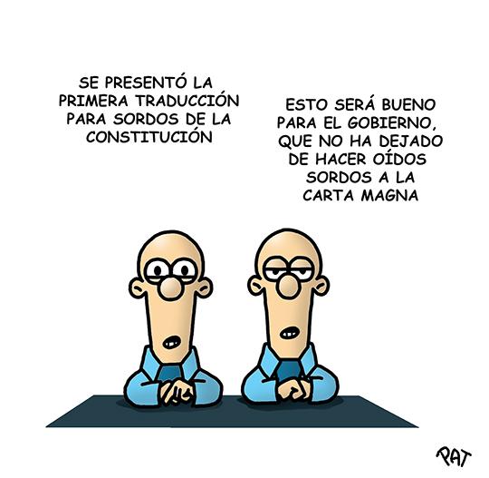 Constitucion sordos