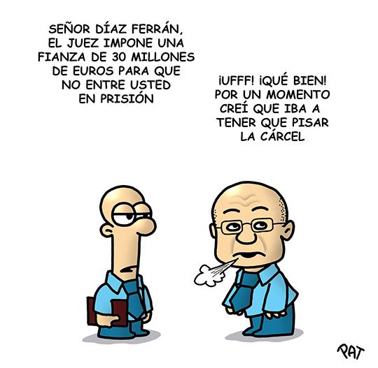 Diaz Ferran fianza