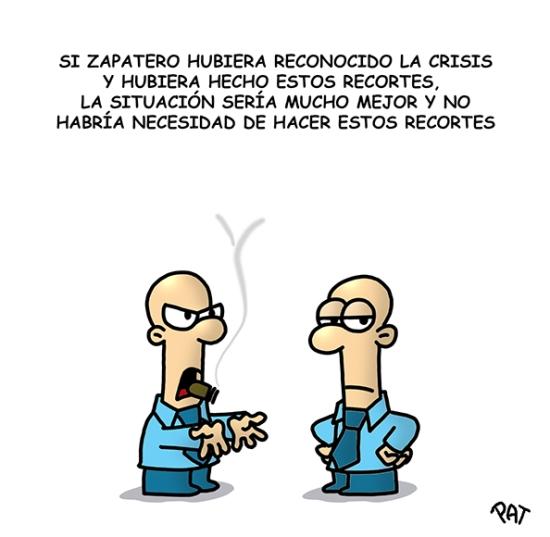 Zapatero culpa