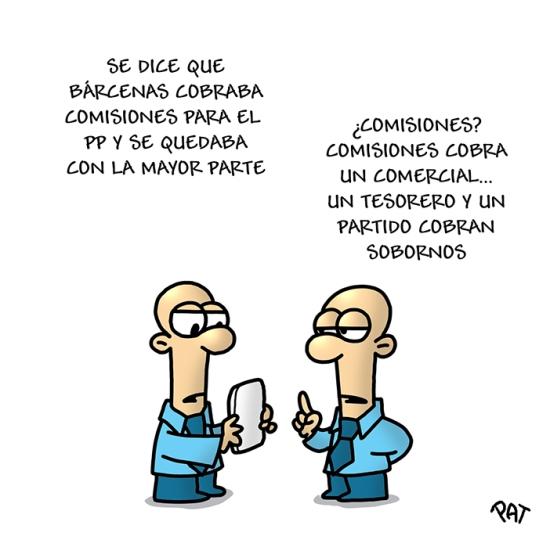 Barcenas comisiones