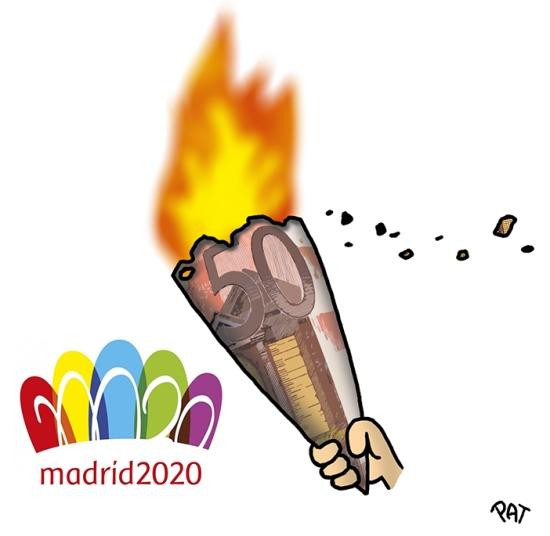 Madrid 2020 presupuesto 2