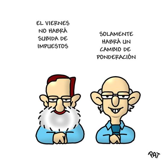 Rajoy subida impuestos