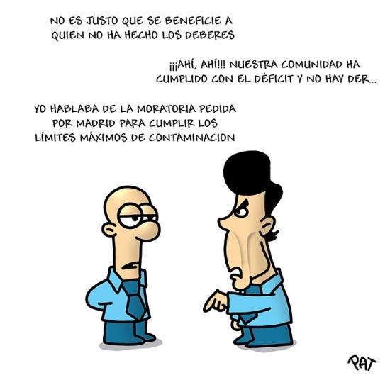 Ignacio Gonzalez deficit