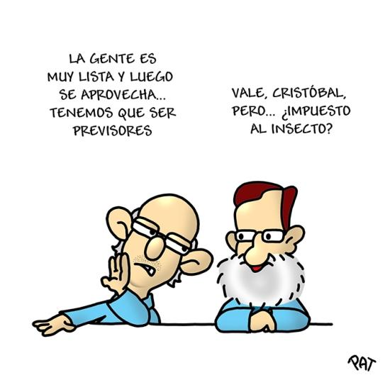 Rajoy Montoro insectos