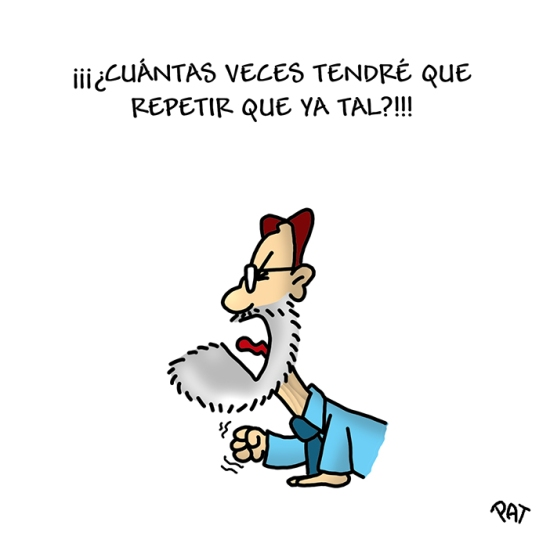 Rajoy avestruz
