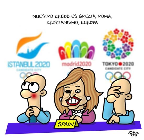 Ana Botella Juegos Olimpicos