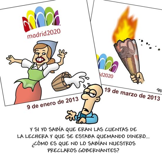 Madrid 2020 fracaso