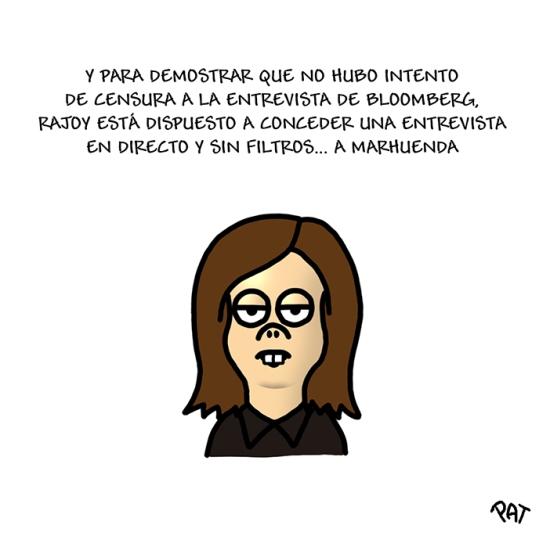 Rajoy Soraya Bloomberg