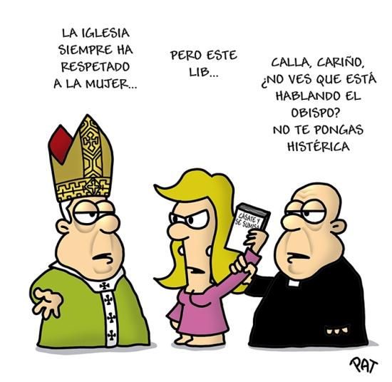 Iglesia misoginia