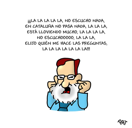 Rajoy sordo