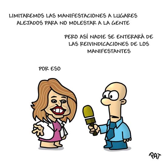 Ana Botella manifestodromo