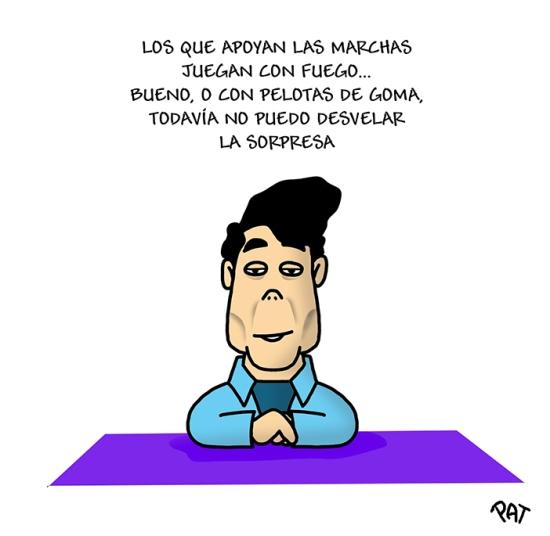Ignacio Gonzalez marchas