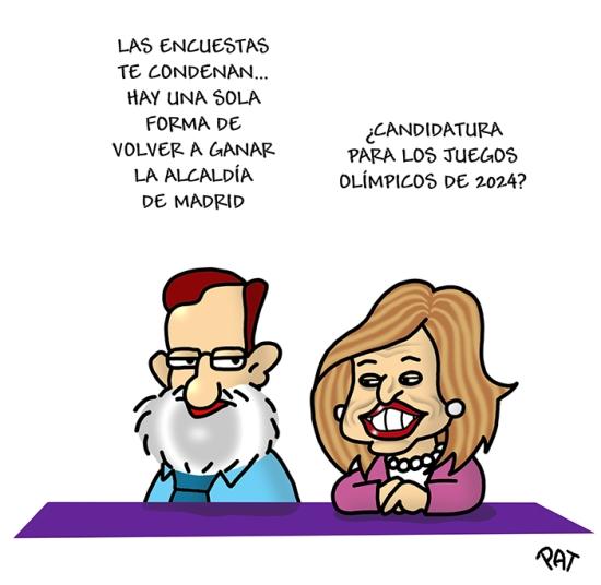 Ana Botella alcaldia