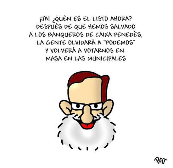 Rajoy Podemos