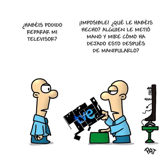TVE manipulacion