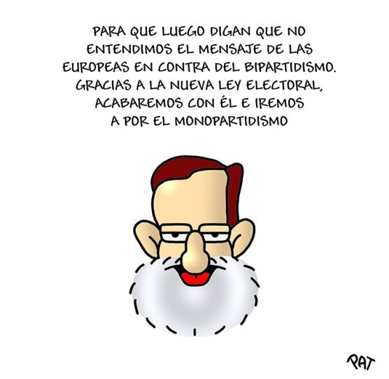 Rajoy ley electoral