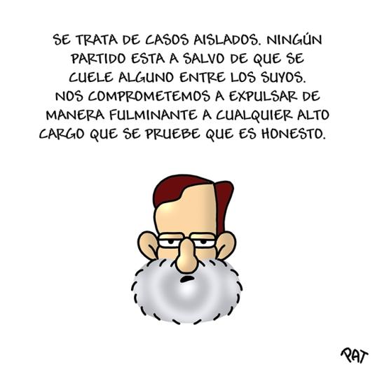 Rajoy corruptos