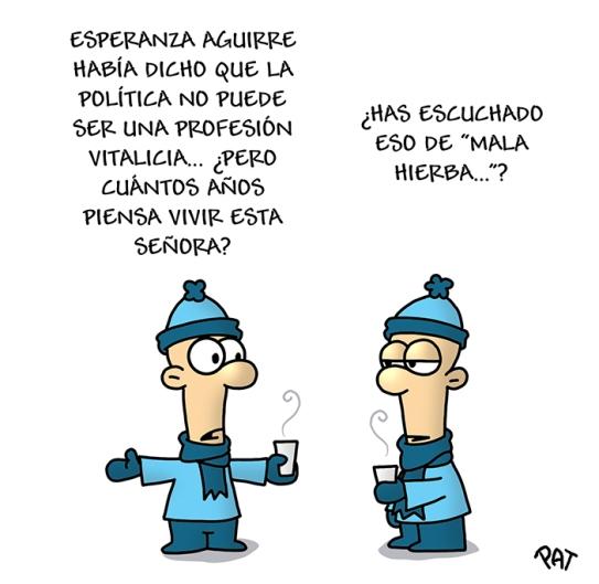 Esperanza Aguirre vitalicia