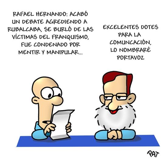 Rajoy Rafael Hernando