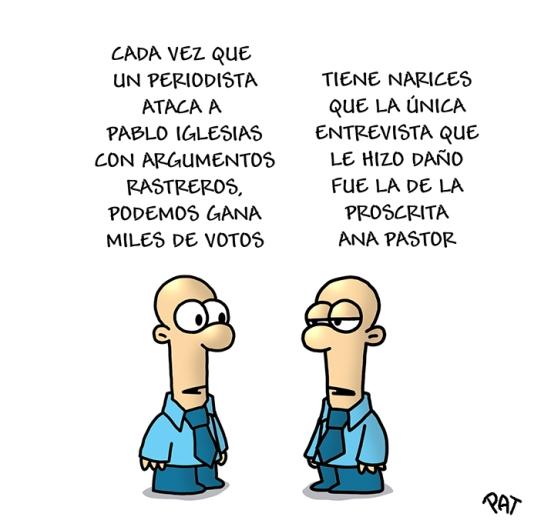 TVE Pablo Iglesias