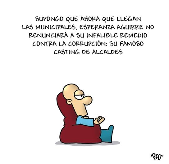 Esperanza Aguirre examen