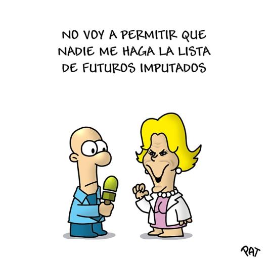 Esperanza Aguirre lista 2